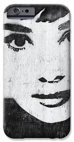Audrey Hepburn IPhone 6s Case by Tim Gainey