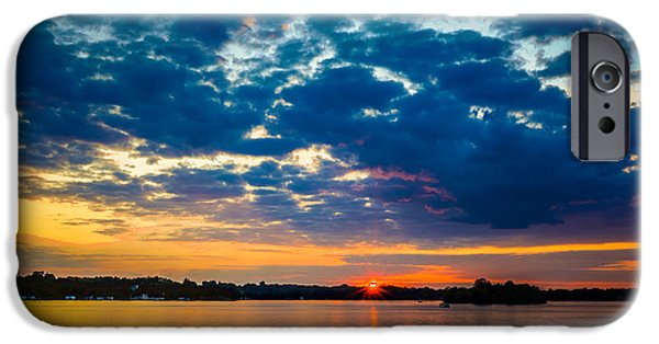 August Sunset Over Lake Nagawicka IPhone 6s Case by Randy Scherkenbach