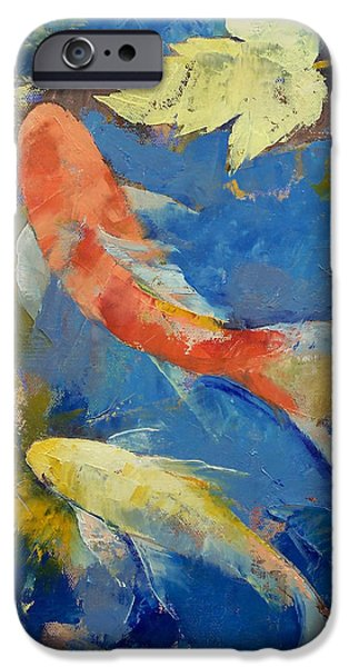 Autumn Koi Garden IPhone 6s Case