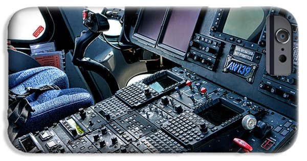 Helicopter iPhone 6s Case - Aw139 Cockpit by Olivier Le Queinec
