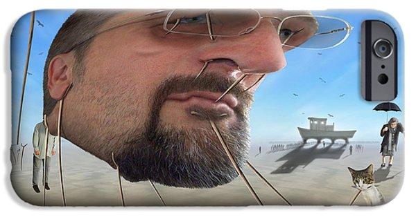 Buzzard iPhone 6s Case - Awake . . A Sad Existence by Mike McGlothlen