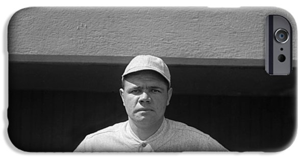 Babe Ruth In Red Sox Uniform IPhone 6s Case by Underwood Archives