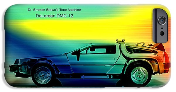 Back To The Future IPhone 6s Case by Marvin Blaine