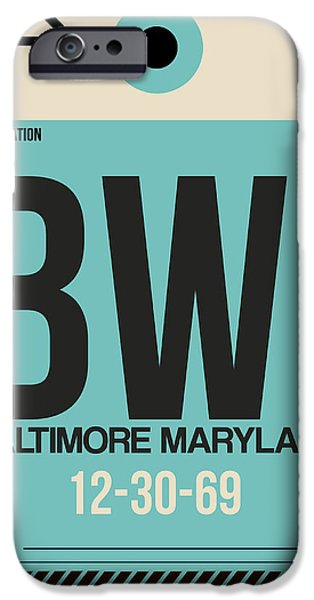 Baltimore Airport Poster 1 IPhone 6s Case