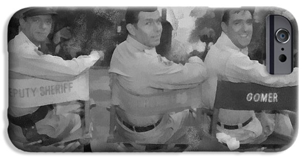 Barney Andy And Gomer IPhone Case by Paulette B Wright