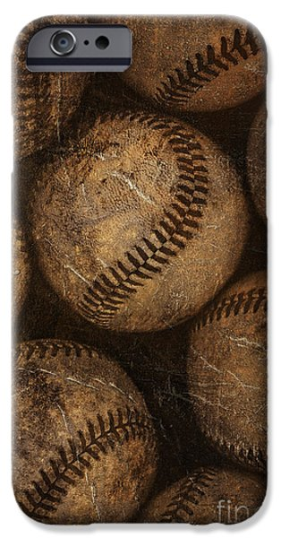 Baseball iPhone 6s Case - Baseballs by Diane Diederich