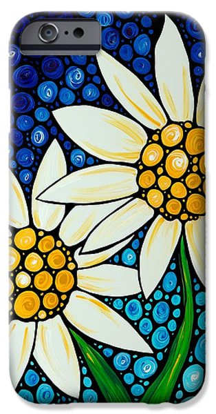 Daisy iPhone 6s Case - Bathing Beauties - Daisy Art By Sharon Cummings by Sharon Cummings