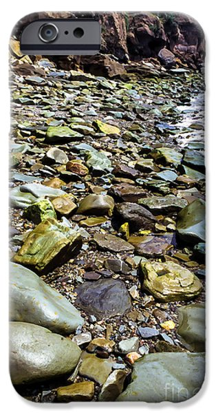 Bay Of Fundy Shoreline IPhone Case by Thomas R Fletcher
