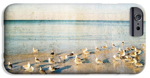 Beach Combers - Seagull Art By Sharon Cummings IPhone 6s Case by Sharon Cummings