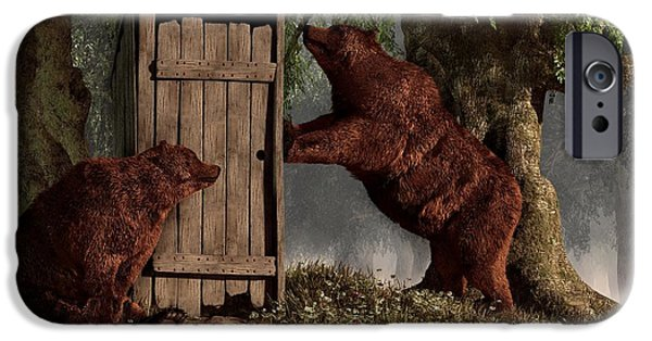 Bears Around The Outhouse IPhone 6s Case