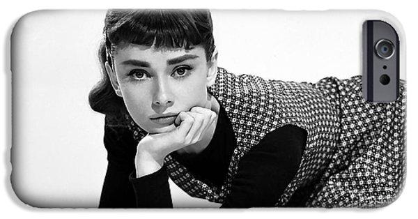 Beautiful Audrey Hepburn IPhone 6s Case by Marvin Blaine