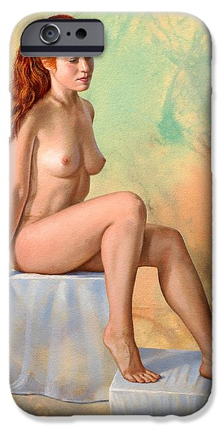 Nudes iPhone 6s Case - Becca 014 In Abstract by Paul Krapf