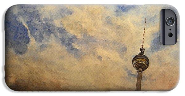 Berliner Sky IPhone 6s Case by Juan  Bosco