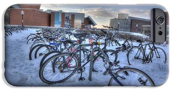 Bikes At University Of Minnesota  IPhone 6s Case by Amanda Stadther