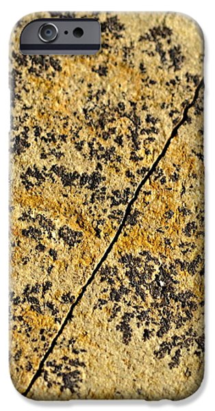 Black Patterns On The Sandstone IPhone 6s Case by Jozef Jankola