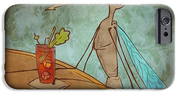 Bloody Mary Mosquito IPhone 6s Case by Jack Myers