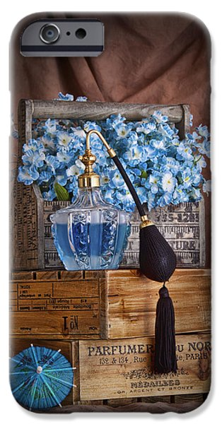 Perfume iPhone 6s Case - Blue Flower Still Life by Tom Mc Nemar