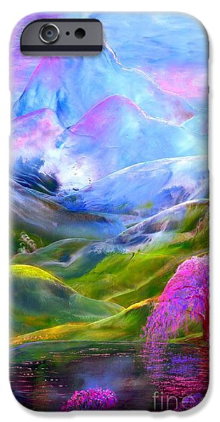 Blue Mountain Pool IPhone 6s Case by Jane Small