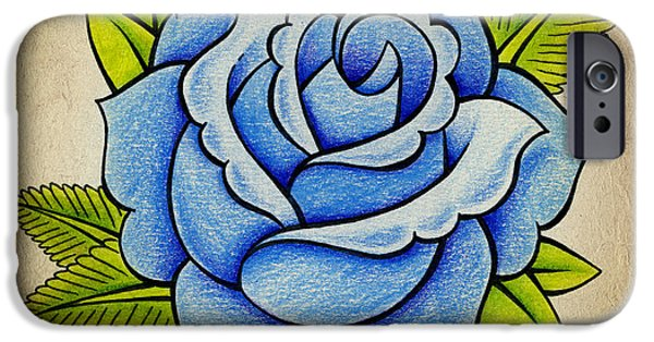 Blue Rose IPhone 6s Case
