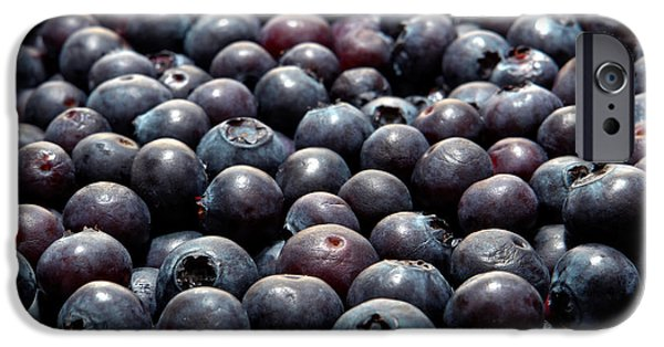 Blue Berry iPhone 6s Case - Blueberry Galore by Olivier Le Queinec