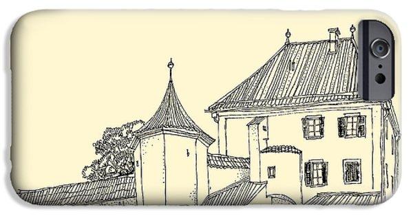 Castle iPhone 6s Case - Blutenburg Castle Near Munich, Bavaria by Babayuka