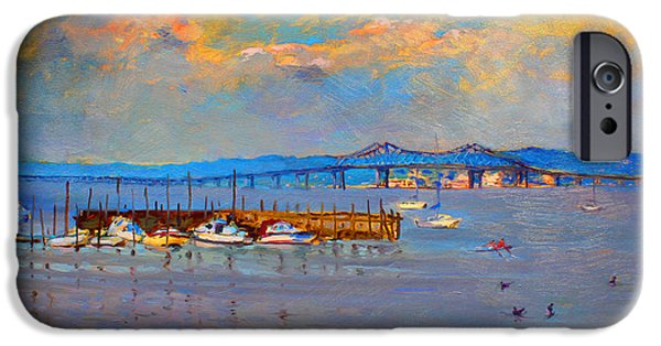 Duck iPhone 6s Case - Boats In Piermont Harbor Ny by Ylli Haruni