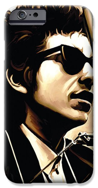 Bob Dylan Artwork 3 IPhone 6s Case