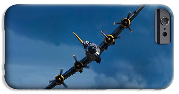 Airplane iPhone 6s Case - Boeing B-17 Flying Fortress by Adam Romanowicz