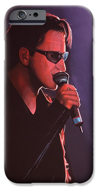 Bono U2 IPhone 6s Case by Paul Meijering