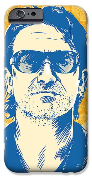 Bono Pop Art IPhone 6s Case by Jim Zahniser