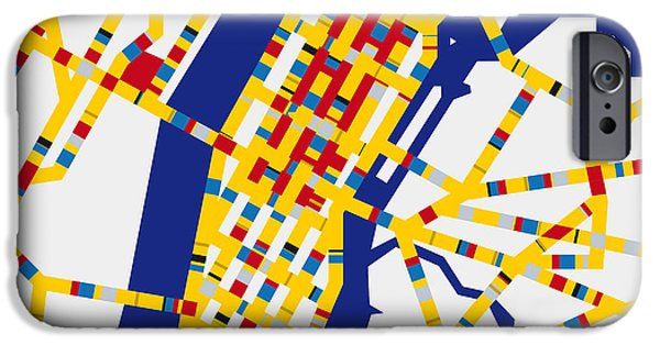 Boogie Woogie New York IPhone 6s Case by Chungkong Art