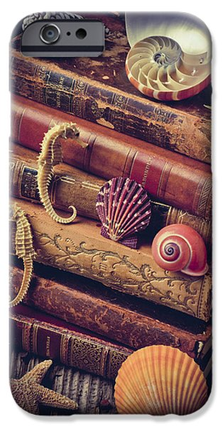 Books And Sea Shells IPhone 6s Case by Garry Gay