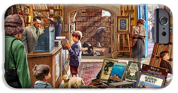 Bookshop IPhone 6s Case by Steve Crisp