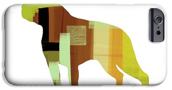 Boston Terrier IPhone Case by Naxart Studio