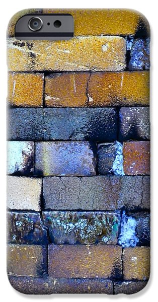 Brick Wall Of A Pottery Kiln IPhone Case by Anna Ruzsan