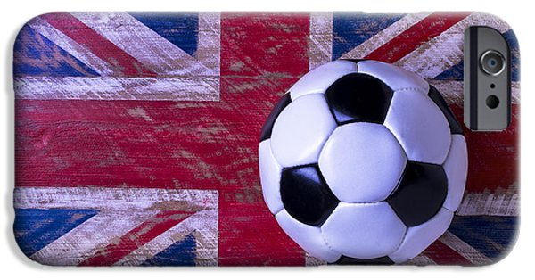 British Flag And Soccer Ball IPhone 6s Case