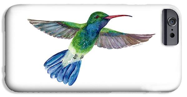 Broadbilled Fan Tail Hummingbird IPhone 6s Case