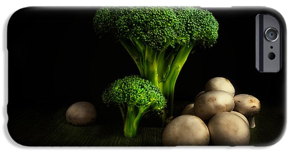 Broccoli Crowns And Mushrooms IPhone 6s Case