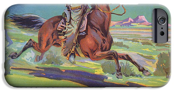 Horse iPhone 6s Case - Bronco Oranges by American School