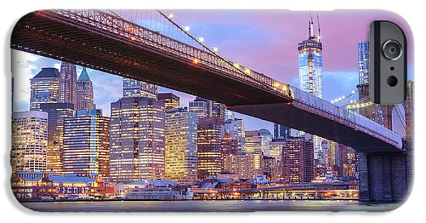 Brooklyn Bridge And New York City Skyscrapers IPhone 6s Case