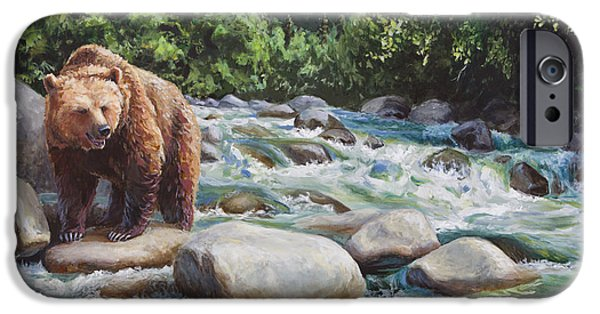 Brown Bear On The Little Susitna River IPhone 6s Case