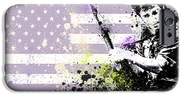 Bruce Springsteen Splats IPhone 6s Case