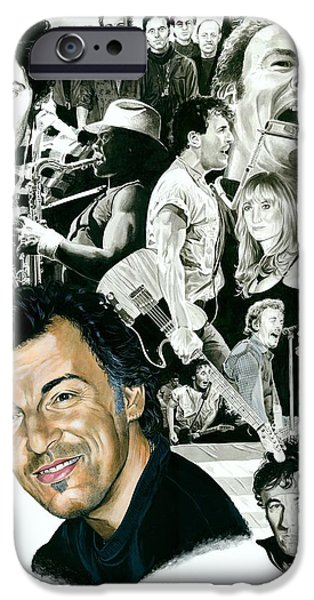 Bruce Springsteen Through The Years IPhone 6s Case by Ken Branch