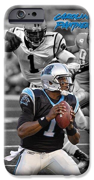 Cam Newton Panthers IPhone 6s Case by Joe Hamilton