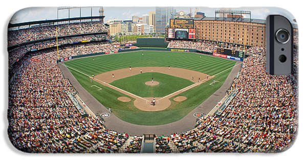 Oriole iPhone 6s Case - Camden Yards Baltimore Md by Panoramic Images