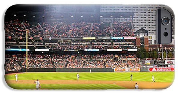 Oriole iPhone 6s Case - Camden Yards by Mike Baltzgar