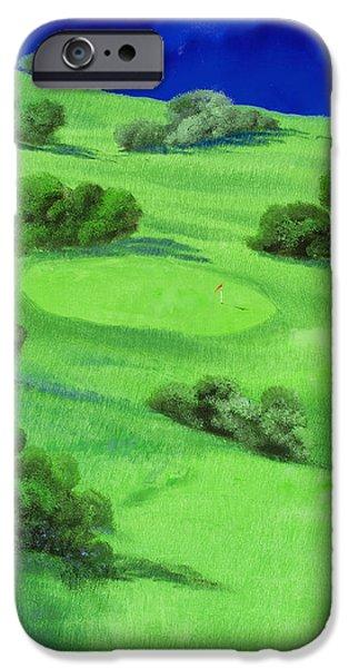 Campo Da Golf Di Notte IPhone 6s Case by Guido Borelli