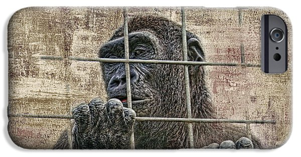 Ape iPhone 6s Case - Captivity by Tom Mc Nemar