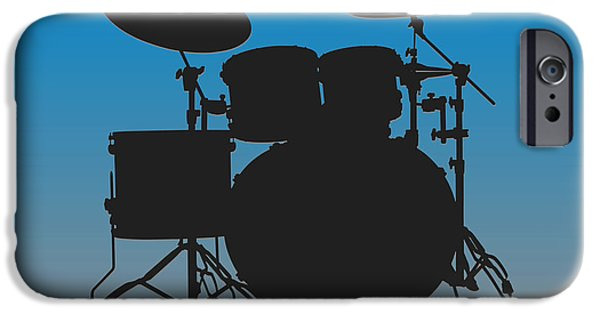 Carolina Panthers Drum Set IPhone 6s Case by Joe Hamilton