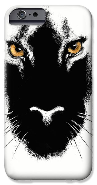 Leopard iPhone 6s Case - Cat's Eyes by Aaron Blaise